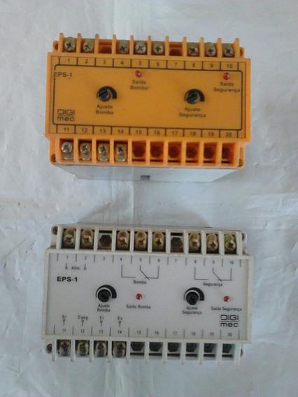Kit C/ 2 Relés De Nível Eps1 Digimec, Semi Novos, 220 Volts.