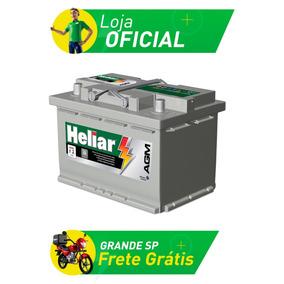 Bateria De Carro Heliar Agm - 70 Amperes - Ag70pd