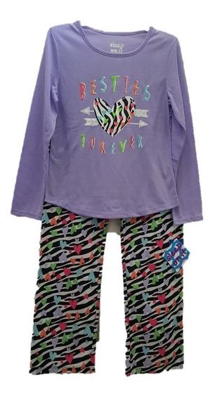 Pijama 2 Pzas Sleep On It Niña Talla M 10/12 // M1