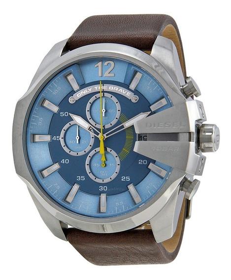 Relógio Diesel Masculino Dz4281/0an C/mostrador Azul