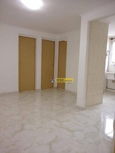 Apartamento Com 2 Dormitórios À Venda, 46 M² Por R$ 210.000,00 - Santa Terezinha - São Bernardo Do Campo/sp - Ap2023
