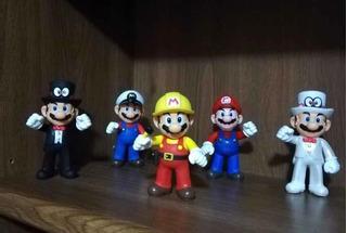 Figuras Mario Bross De Coleccion 13 Cm. | Venta Individual
