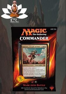 Commander 2015 - Wade Into Battle - Inglês