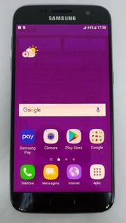 Samsung Galaxy S7 G930f 32gb 4g Original Vitrine Preto Burn-in