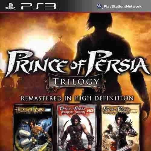 Prince Of Persia Trilogy Hd - Jogos Ps3 Playstation 3