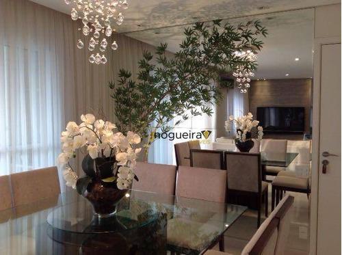 Excelente Apartamento Com 2 Dormitórios, 2 Suítes À Venda, 98 M² Por R$ 850.000 - Jardim Marajoara - São Paulo/sp - Ap15509