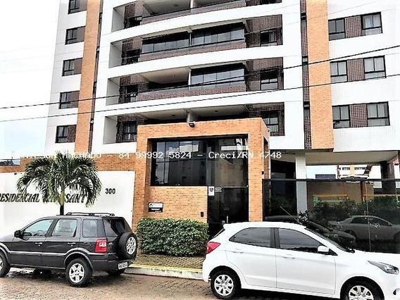 Apartamento Para Venda Em Natal, Candelária - Ravissant Residencial, 3 Dormitórios, 2 Suítes, 4 Banheiros, 2 Vagas - Ap0890-ravissant
