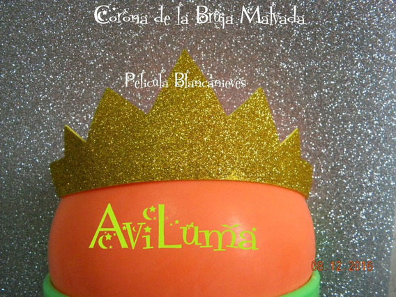 Souvenir Corona Vincha Bruja Malvada Descendientes Aviluma