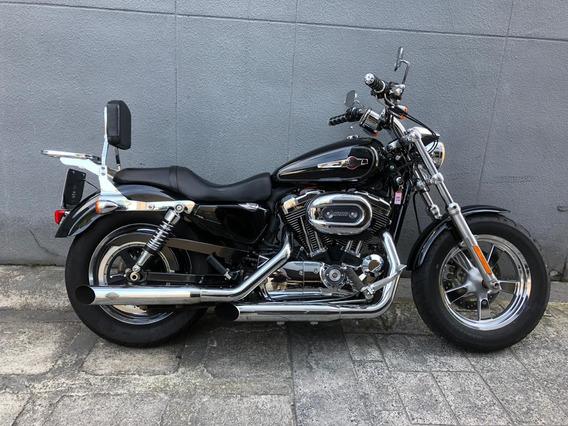 Harley-davidson Xl 1200 C Preta 2013