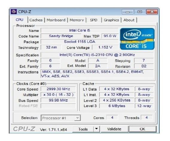 Processador I5 2310 Placa 1155