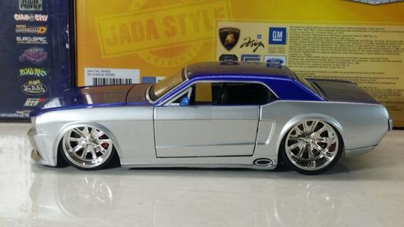 Oferta Mustang 1965 Escala 1/24 Coleccion Jada Toys