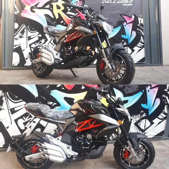 Moto Gilera Gx1 125 R Naked Ultimos Dias Promo 22/02
