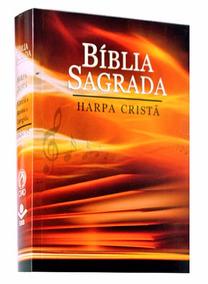 Bíblia Sagrada Harpa Cristã Capa Entardecer Brochura 16x11cm
