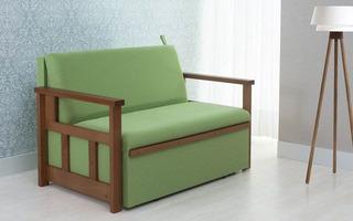 Sofá Cama Casal Akira - Verde - Tommy Design