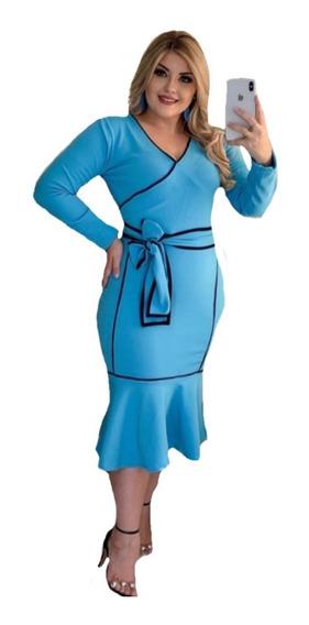 Vestido Médio Modelos E Cores Moda Evangélica Secretaria #cr