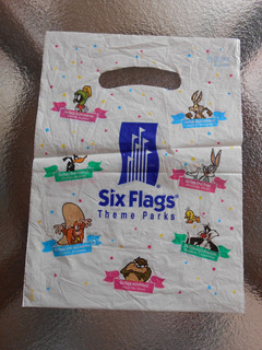 Sacola Six Flags Theme Parks