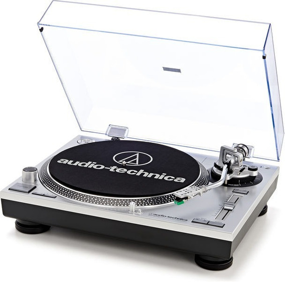 Toca Discos Audio Technica At-lp120 Prata Bi-volt