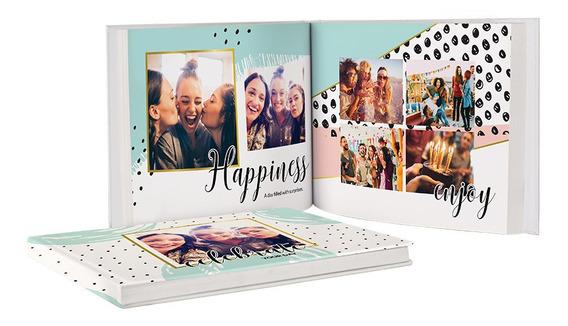 Álbum Fotos Photobook 15x21 Fotolivro Personalizado 12 Pág