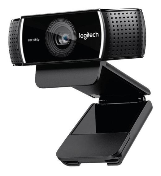 Webcam C922 Pro Stream Logitech Hd Pro 1080p Streamers