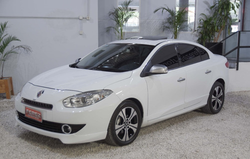 Renault Fluence Gt 2.0 Nafta 16v Blanco 2013 Impecable!!!