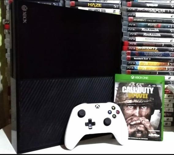 Xbox One 500gb Original Semi-novo Com Garantia Xbox Fat