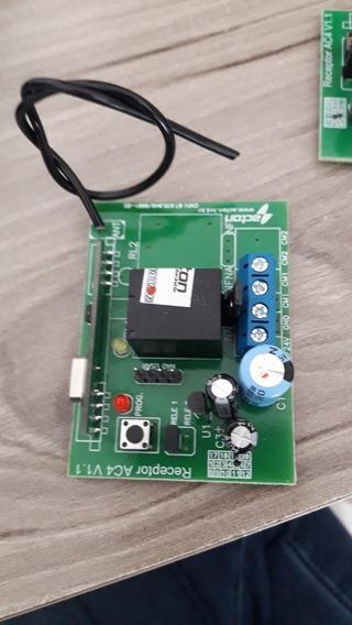 Mini Receptor Para Motor De Portão Eletrônico Universal