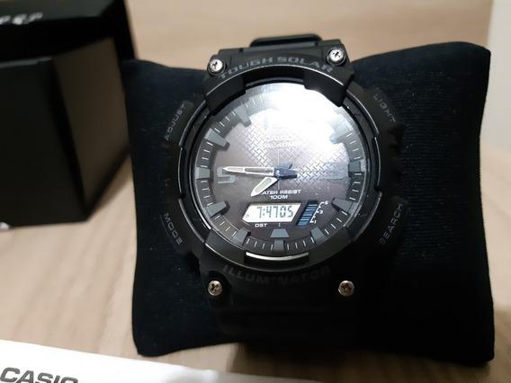 Relógio Solar Casio Anadigi 20 Meses De Garantia