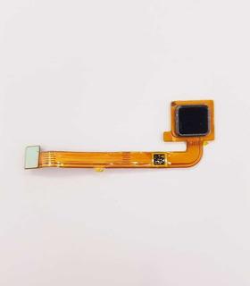Flex Botão Home + Biometria Moto G4 Plus Branco/preto Orig