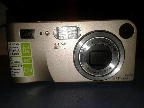 Camara Digital Hp M407 Zoom Optico Auto Focus