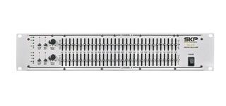 Ecualizador Skp Eq231 31 + 31 Bandas Conectores Xlr