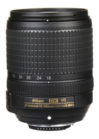 Lente Nikon Af-s Dx Nikkor 18-140mm F/3.5-5.6g Ed Vr Sjuros