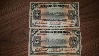 Billete Moneda Nacional Py