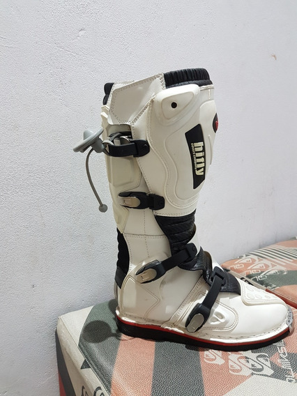 Botas Cross Hi Fly Mx Blanco