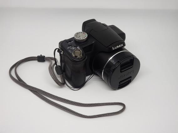 Câmera Panasonic Lumix Dmc-fz18 (não É Canon, Nikon, Pentax)