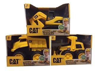 Juego De Construcción De Juguetes De Cat Tough Tracks!