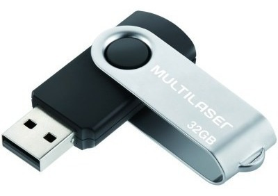 Pen Drive Twist 32gb Multilaser Un/1