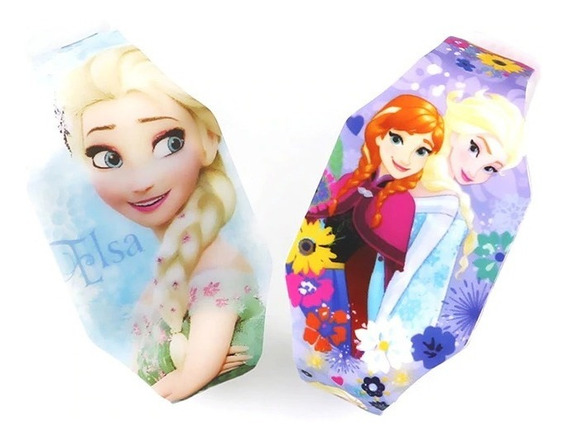 Relógio Infantil Elsa Frozen Disney Luzes-único