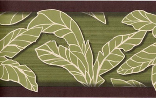 Cenefas Decorativas Tema Tropical Juego De 2 Rollos