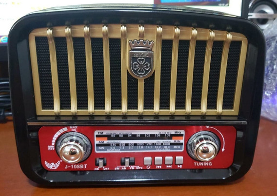Radio Am/fm/usb/sd/tf 3 Bandas