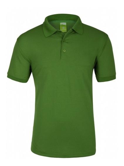 Polo Premium Personalizada Vinil Textil Uniforme Empresa Log