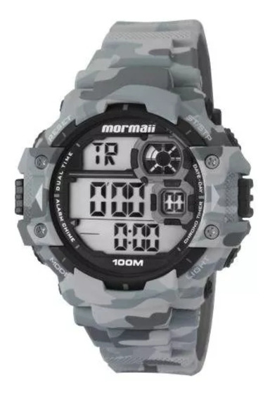 Relógio Masculino Mormaii Digital Casual Mo13609/8c