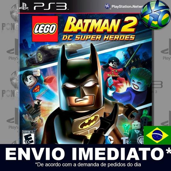 Lego Batman 2 Dc Super Heroes Ps3 Psn Jogo Em Promoção