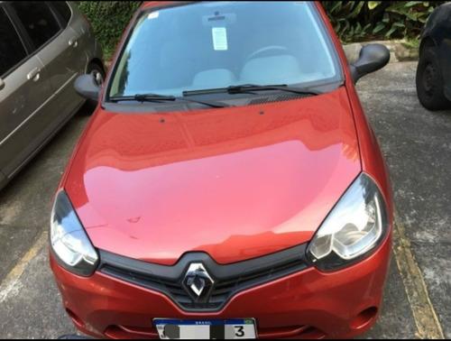 Imagem 1 de 9 de Renault Clio 2014 1.0 16v Authentique Hi-power 3p