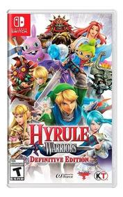 Jogo Hyrule Warriors Definitive Edition Nintendo Switch