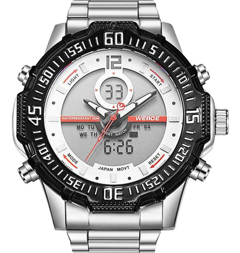 Relógio Masculino Weide Anadigi 10266