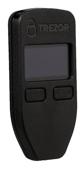 Trezor Wallet Color Negro Hardware Billetera Seguridad