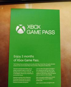 Xbox Game Pass 3 Meses Renovação Ou Assinatura - 25 Digitos