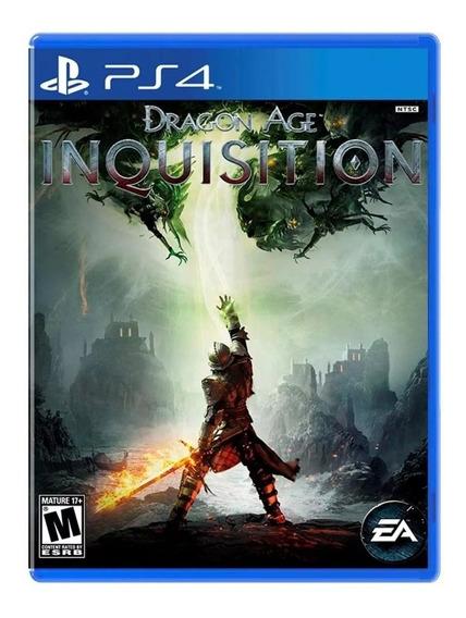 Dragon Age Inquisition - Ps4 - Mídia Física