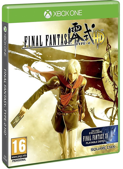 Final Fantasy Type-0 Hd Day One Xbox One Midia Fisica Novo
