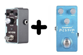 Pedal Reverb Eno E Pedal Coolmusic Delay Analogico